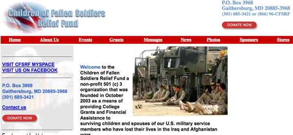 Children of the Fallen Soldiers Relief Fund