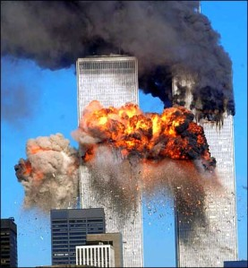 World Trade Centers Attacked on 9/11/2001